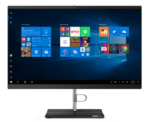 "Моноблок Lenovo V540-24IWL All-In-One 23,8"" i5-8265U 8Gb 1TB_5400rpm Intel UHD 620 DVD±RW 2x2AC+BT USB KB&Mouse Win 10 Pro64-RUS 1YR Carry-in"