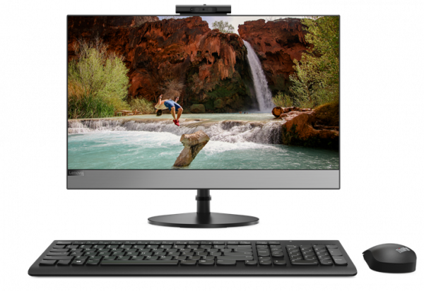 "Моноблок Lenovo V530-24ICB All-In-One 23,8"" FHD(1920x1080) AG Non touch, i3-9100T, 8GB, 512GB_M.2, Intel UHD 630,  SlimDVD, WiFi, BT, KB&Mouse, noOS, 1Y OS"