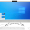 "Моноблок HP 22-df0048ur NT 21.5"" FHD(1920x1080) AMD Ryzen3 3250U, 8GB DDR4 2400 (1x8GB), HDD 1Tb + SSD 128Gb, AMD Integrated Graphics, noDVD, kbd&mouse wired, HD Webcam, Snow White, FreeDos, 1Y Wty"