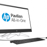 "Моноблок HP 24-f0020ur NT 23,8"" (1920x1080) Intel Pentium J5005, 4GB DDR4-2400 SODIMM (1x4GB), 1TB, Intel HD Graphics 600, no DVD, USB kbd&mouse, Privacy VGA webcam, Jack Black, Win10, 1Y Wty"