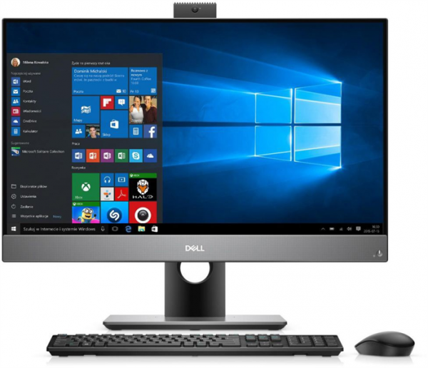 Моноблок Dell Optiplex 5480 AIO Core i7-10700 (2,9GHz) 23,8'' FullHD (1920x1080) IPS AG Non-Touch with IR cam 16GB (1x16GB) DDR4 512GB SSD Nv GTX 1050 (4GB) IR cam,Height Adjustable Stand,TPM W10 Pro 3y NBD