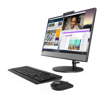 "Lenovo V530-22ICB All-In-One 21,5"" Pen G5420T, 4GB DDR4, 128GB SSD, Intel HD, DVD±RW, AC+BT, USB KB&Mouse, NoOS, 1YR OnSite"