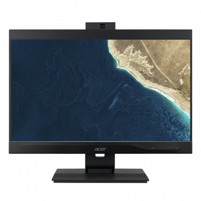 "ACER Veriton Z4860G  All-In-One 23,8"" FHD(1920x1080)IPS, i3 9100, 4GbDDR4, 128 GB SSD, Intel UHD Graphics 630, DVD-RW, WiFi+BT5,USB KB&Mouse, black, Win 10Pro 3Y carry in"