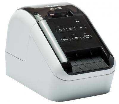 QL-810W,  DK SUPPL 62 mm, 176 mm/sec, USB, WiFi, AirPrint, 6MB Flash