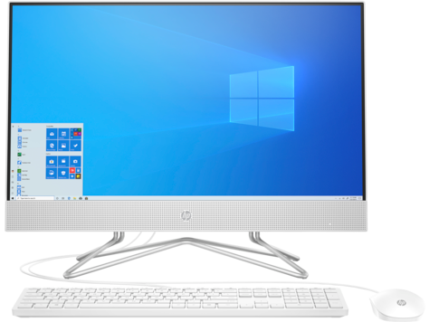 "Моноблок HP 24-df1006ur NT 23.8"" FHD(1920x1080) Core i5-1135G7, 8GB DDR4 2666 (1x8GB), SSD 256Gb, Intel Internal Graphics, noDVD, kbd&mouse wired, HD Webcam, Snow White, Win10, 1Y Wty"