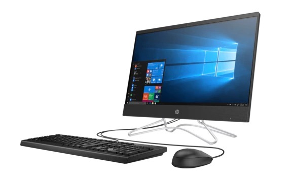 "Моноблок HP 200 G3 All-in-One NT 21,5""(1920 x 1080) Core i5-8250u,4GB,128GB+ 1TB,DVD-WR,kbd USBmouse,Realtek AC 1x1 WW with 1 Antenna,Jet Black Plastic,Win10Pro(64-bit),1-1-1 Wty"