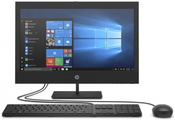 "Моноблок HP ProOne 400 G6 All-in-One NT 19,5""(1920x1080)Core i5-10500T,8GB,256GB SSD,DVD,kbd&mouse,Fixed Stand,Intel Wi-Fi6 AX201 nVpro BT5,HDMI Port,HD 720p Dual,Win10Pro(64-bit),1-1-1 Wty"