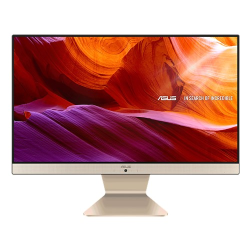 "Моноблок ASUS Vivo AIO M241DAK-WA171T AMD R5 3500U/8Gb/1TB HDD+128Gb SSD/23,8"" IPS FHD non-touch non-Glare/Zen Plastic Golden Wired Keyboard+ Mouse/Windows 10 Home"