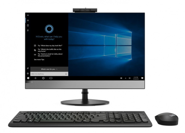 "Моноблок Lenovo V530-24ICB All-In-One 23,8"" Pen G5400T 4GB DDR4, 500GB, Intel HD, DVD±RW, AC+BT, USB KB&Mouse, Win 10 Pro64-RUS, 1YR Carry-in"