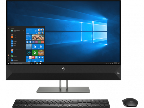 "Моноблок HP Pavilion I 27-xa0117ur NT 27"" (2560x1440) Core i5-9400T, 8GB DDR4 2666 (1x8GB), SSD 512GB, nVidia GTX 1050 3GB DDR5, no DVD, kbd&mouse wired, FHD IR Webcam, Black, Win10"